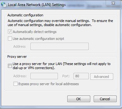 Proxy Settings – Option 252 – Bluecoat WPAD Settings file